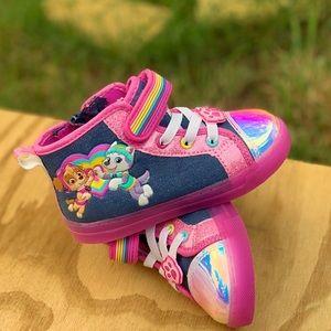 Shoes - Paw Patrol Toddler Girl High-Top Sneaker Girl Shoe